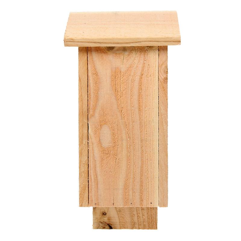 Abri pour chauve souris en bois brut